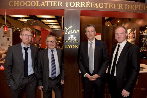 11. Franck Boucaud-Maitre (Voisin), Jean-Jacques David, Pascal Blache et Romain Boucaud-Maitre (Voisin)