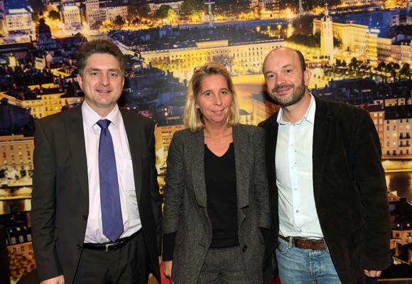 12. Thierry Morellon, Marion Fressonnet (Blanchisserie Morellon) et Julien Bonnard (Coq Events)