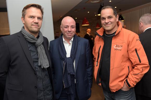 14. Laurent Vernoux (LOU), Yvan Patet (EM2C) et Sébastien Perez (Serv'eau)
