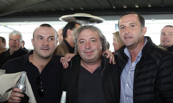 15. Cyril Bosviel (Institut Paul Bocuse), Jean-Luc et Patrice Martinez (Limpa)