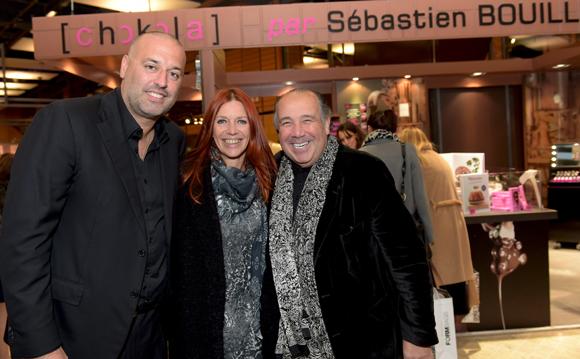 15. Philippe Bernachon, Sandrine Frih, vice-présidente du Grand Lyon et le couturier Max Chaoul