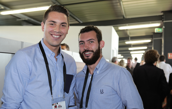 16. Thomas Quantin et Cyril Magagnin (LOU Rugby)