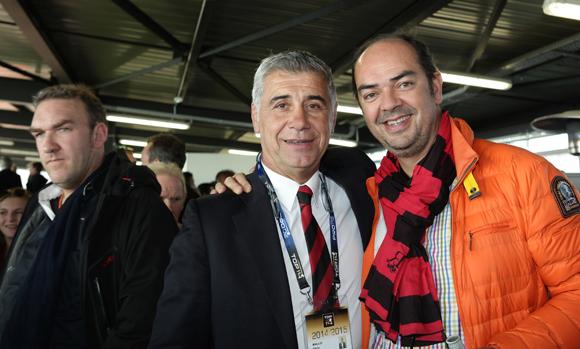 17. Pierre Maillot (LOU Rugby) et Benoit Licour (Maïa)