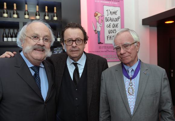 1. Jean-Pierre Bessard (Canhumanitaire), Philippe Vorbuger (Comédie Odéon) et Jean-Pierre Biot (Amopa)