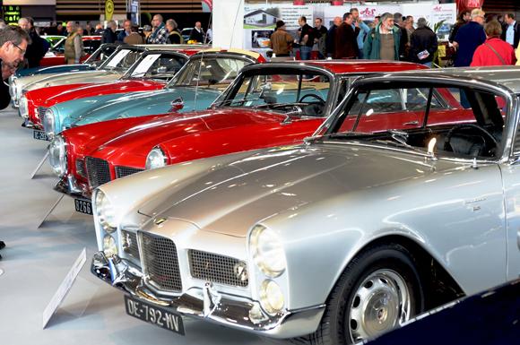 17. Un plateau de 750 m² fût consacré à Facel Véga et aux 60 ans de la dernière grande marque française d'automobiles de sport et de prestige.