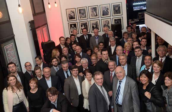 18. Philippe Vorburger et ses amis
