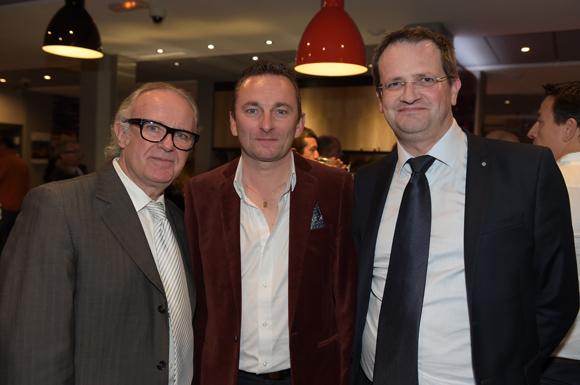 19. Jean-Jacques Fonmarty, Laurent Chevalier et Eric Lavrilleux (Premdor)