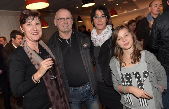 20. Patricia Nikolavcic (Vinatier), Eric Moissonnier, Geneviève Moissonnier et Mélanie Lachanelle