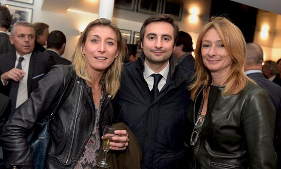 20. Virginie Adnet (OL Média), Charles Le Roy (Casino le Lyon Vert) et Nathalie Degardin (Le Progrès)