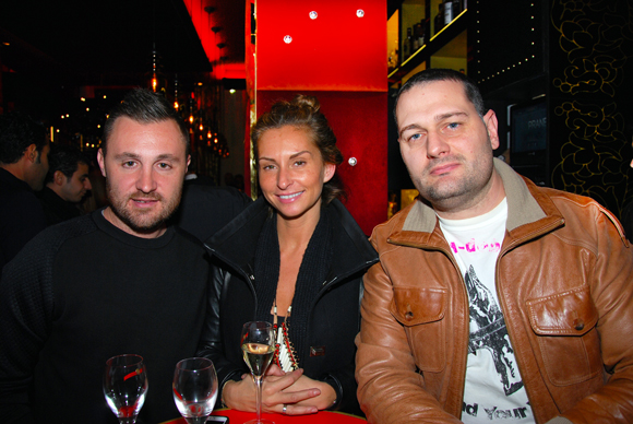 2. DJ Alexandre Billard, Laetitia Vivarelli (Agence Laetitia Vivarelli) et Gérald Loulelis
