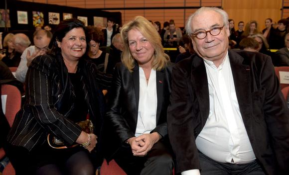 22. Françoise Bernachon, Sylvie Douce et François Jeantet, créateur du Salon du Chocolat