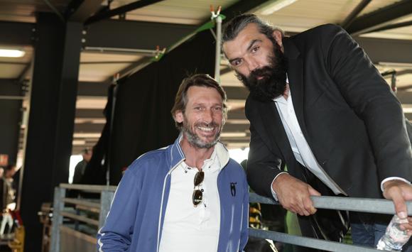 23. Stéphane Bellemin (MMIC) et Sébastien Chabal (LOU Rugby)