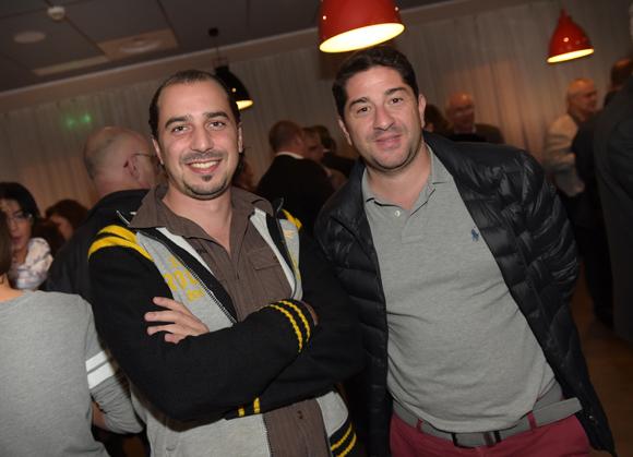 23. Julien Zaroukian (Lyon Clim Services) et Laurent Cellupica (Richardson)
