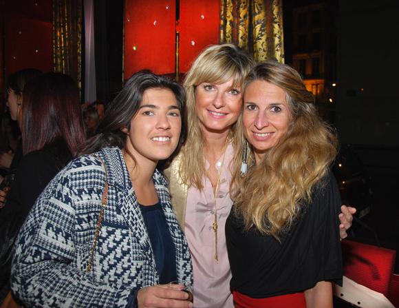 23. Justine Monet (Plus 2 Sens), Valérie Marre (Air France) et Vanessa Gomez (Virgin)
