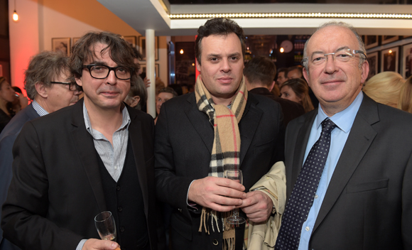 25. Le réalisateur Vincent Massip, Régis Caron et Michel Le Ray (Publiprint)