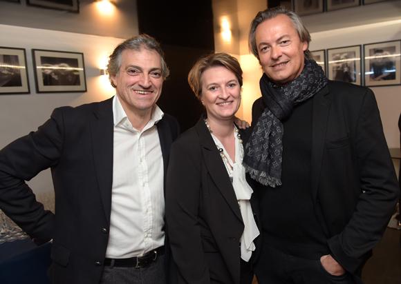 2. Jean-Philippe Serrano (Cosmopolitis Productions), Séverine Maisonneuve (Maia) et Christian Wagner (Artis Moda)