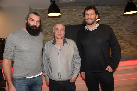 27. Sébastien Chabbal, James Lachanelle et Lionel Nallet  (Hôtel des Lumières)