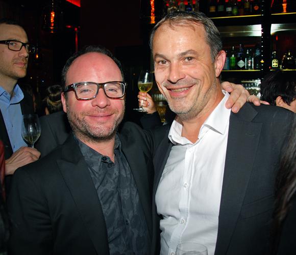 27. Fabien Chalard (Le Comptoir de la Bourse) et Alain Potiron (Directeur régional Pernod)