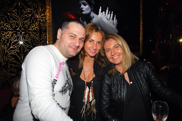 28. Gérald Loulelis, Laetitia Vivarelli (Agence Laetitia Vivarelli) et Elodie Lavorel