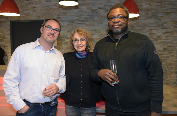29. Damien Seguettes (Doneck), Simona Lissa (Hôtel des Lumières) et Dr Anastase Anagonou (Doneck)