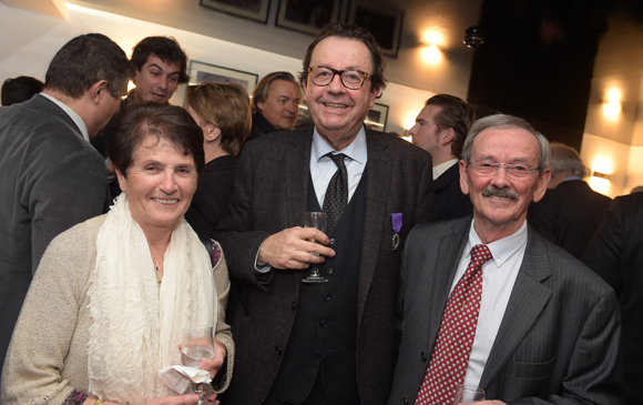 30. Jean-Claude Haumont, son épouse Cécile  et Philippe Vorburger (Comédie Odéon)