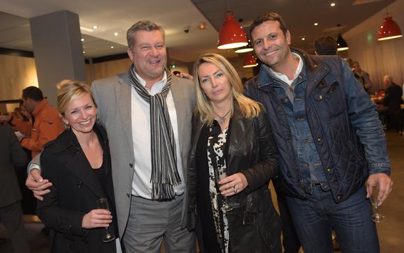 30. Fréderic Maraillet, son épouse Mélanie (Akesa), Christophe Gerbaud et Corinne Paris (Assurances Paris-Gerbaud)