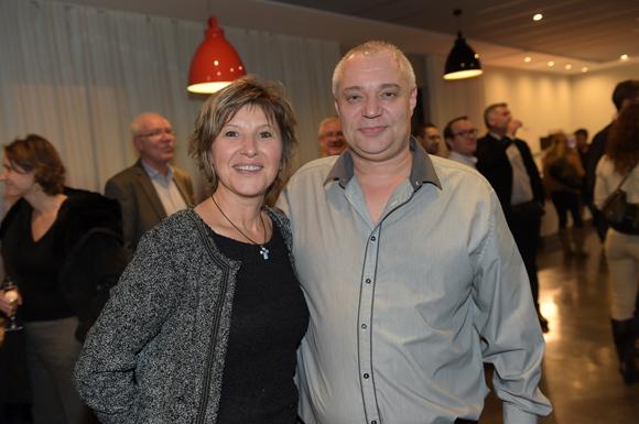 31. James Lachanelle et son épouse Corine (Hôtel des Lumières)