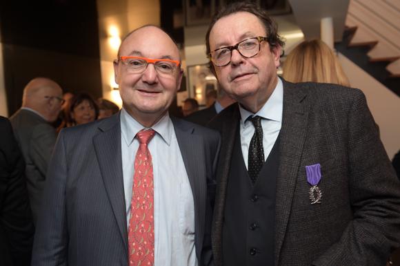 31. Gérard Angel (Les Potins d'Angèle) et Philippe Vorburger (Comédie Odéon)