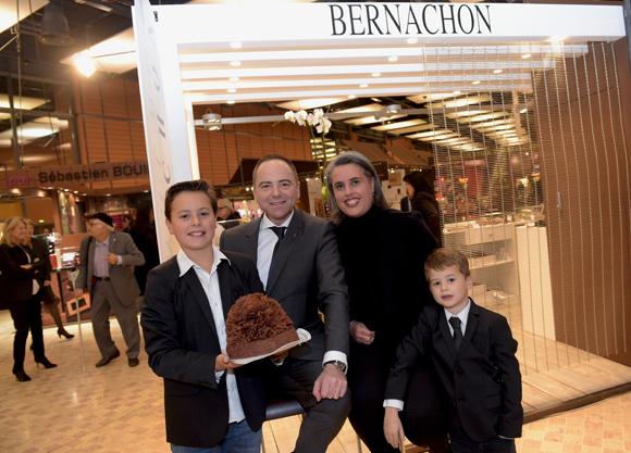 Inauguration du 4 me salon du chocolat de lyon for A thomas cousins salon