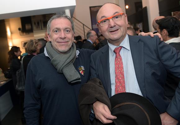 3. Stéphane Casez (Comédie Odéon) et Gérard Angel (Les Potins d'Angèle)