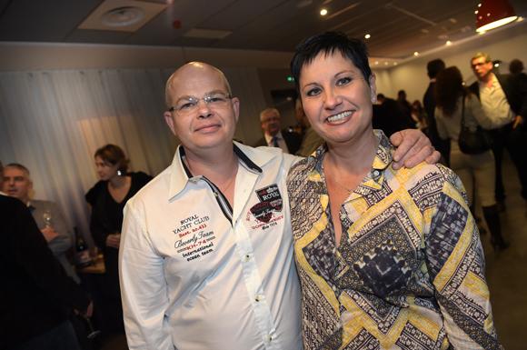 33. Philippe Monnet et son épouse Claire (boulangerie Monnet)