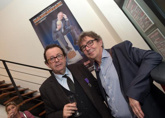 33. Philippe Vorburger (Comédie Odéon) et Antoine Castano, proviseur du lycée Marcel Sembat (Vénissieux)