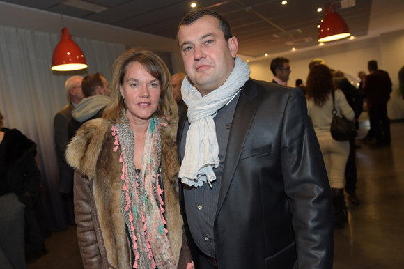 34. Bertrand Mazard, son épouse Isabelle (D'Aventure)