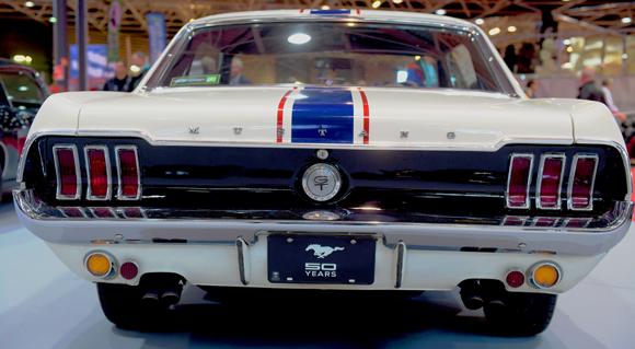 36. Les 50  ans de la Ford Mustang