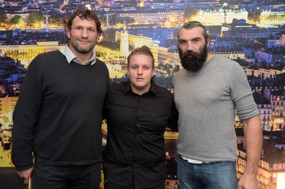 37. Lionel Nallet, Mickaël Costa et Sébastien Chabbal (Hotel des Lumières)