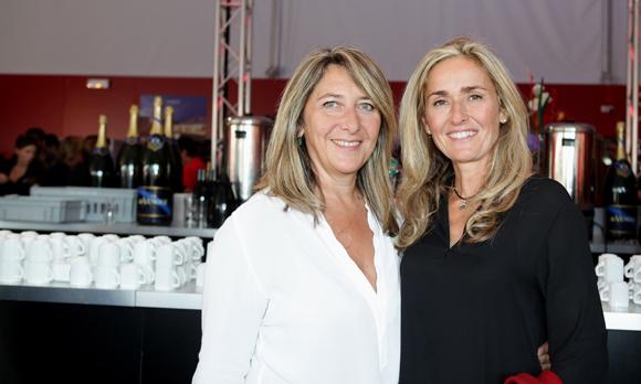4. Catherine Arbaud (LOU Rugby) et Sylvie Viot (Montres Jean Richard)