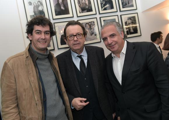 4. Franck Delafon (L'Institution), Philippe Vorbuger (Comédie Odéon) et Marc Giangreco