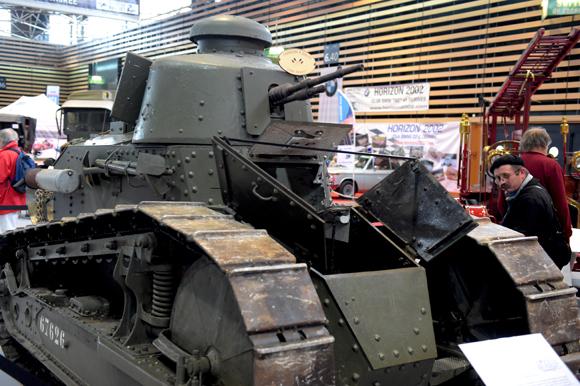 45. Char Renault de la Fondation Berliet, marquant le centenaire de la Grande guerre