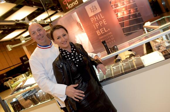 5. Philippe Bel et son épouse Cécile