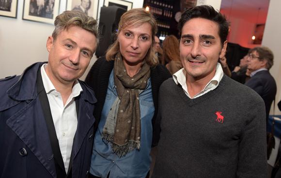 7. Thierry Lahon (à KGB), Adeline Gazon (Aventurine) et Michel Chanut (Les Incorruptibles)