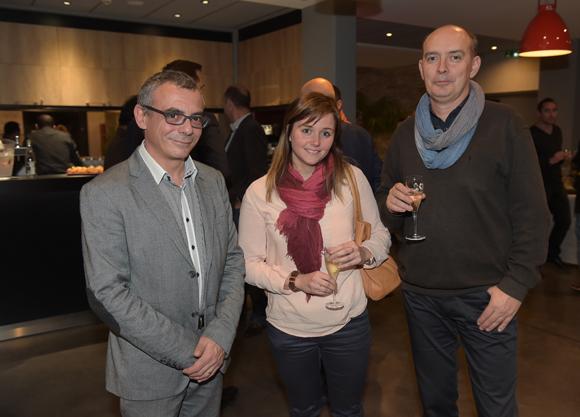 8. Jean-Christophe Vivien (Hôtel des Lumières), Marie Chuzel et Pierre Barani (AIM)