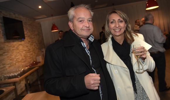 9. Georges Cruze et son épouse Christiane (CFP)