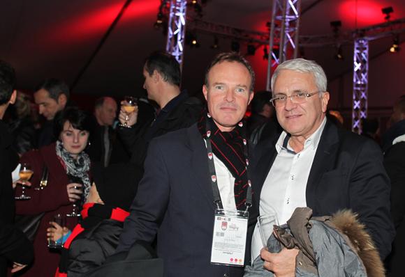 1. Serge Rouviere (LOU Rugby) et Christian Deveze