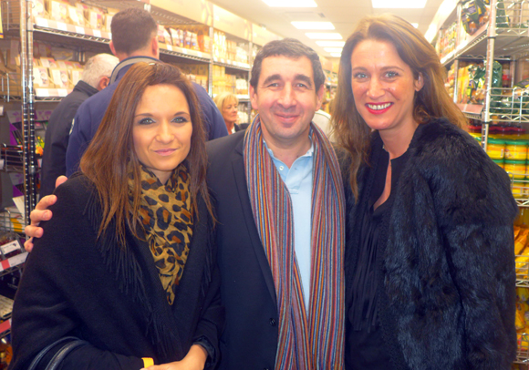10. Céline, le chef Guy Lassausaie et Candice