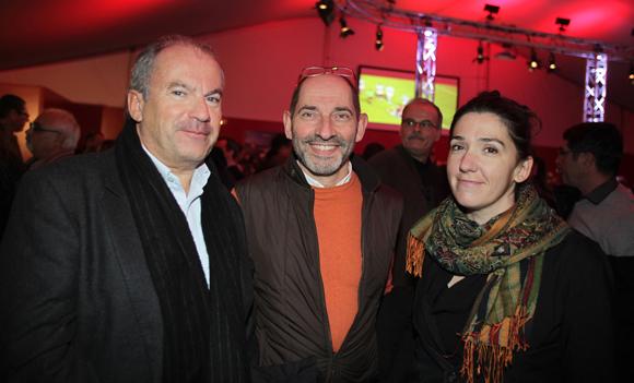 11. Patrice Duret (Cimax), Antoine Raucoules (Fiduciaire Lyonnaise), son épouse Géraldine (Ministère des Finances)