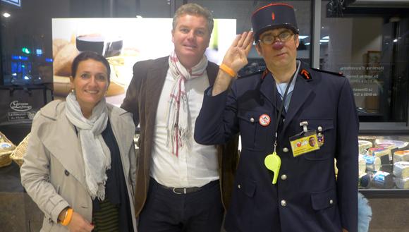11. Anne et Denis (Adgest RH) et Jean-Pierre (Association Docteur Clown)
