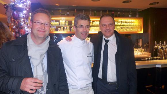 14. Corentin Rémond (Mairie Tassin), Philippe Gauvreau (Halles 9) et Serge Bex (OL)