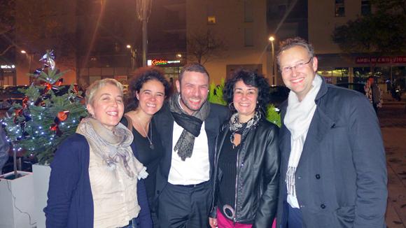 15. Nadine et Aline Chetail, Franck Sciessere (Cour des Loges), Patricia Chetail et Corentin Rémond