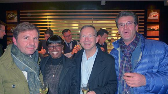 16. Laurent, Viviane, Benoit, Jean Marc (Cerise et Potiron Ecully)