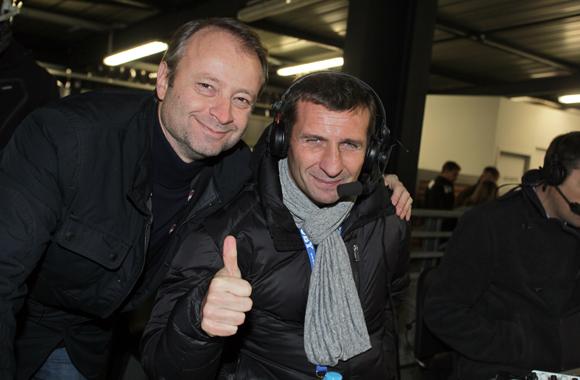 21. Marco Polisson (Lyon People) et Raphaël Saint André